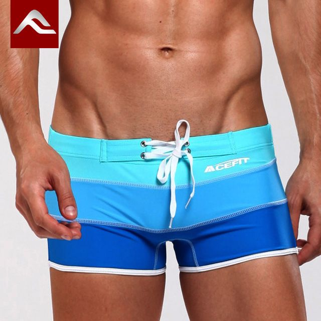 【 $7.64 & Free Shipping 】2016 Mens Swimwear Sexy swimming trunks Low waist Stripe Patchwork Shorts Boxers comfortable Swimsuit | Buying & Reviews on AliExpress