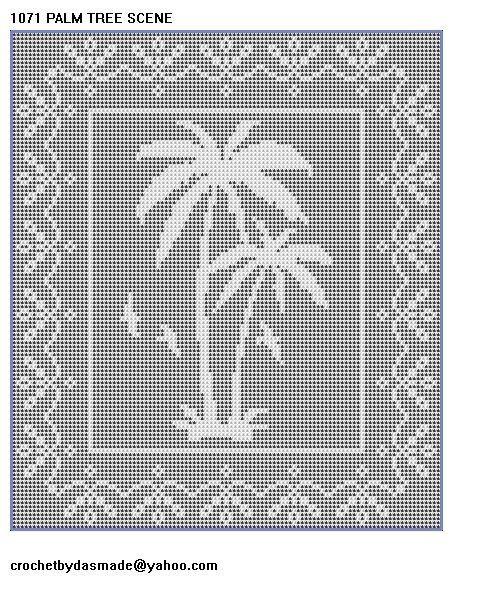 Filet Crochet Afghan Patterns | 1071_palm_scene_filet_crochet_doily_afghan_pattern__0f28c69a.jpg