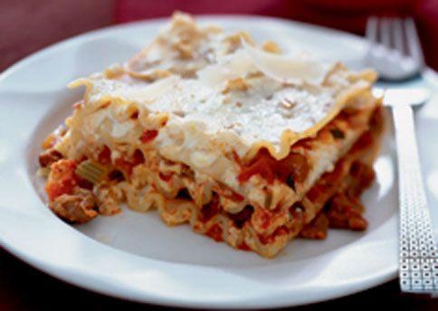 Cheese and Sausage Lasagna | Recipe | Lasagna recipes, Cheese lasagna ...