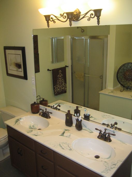 Green And Tan Bathrooms Green And Brown Masterbath Bathroom Designs Decorating Ideas