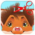 Pet Salon: Hair Spa,Makeover,Facial,Makeup & Dressup App iTunes App Icon Logo By Sunny Sungtani - FreeApps.ws