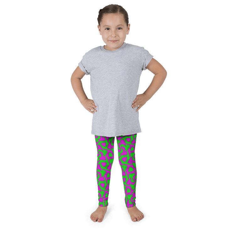 Now available just for you Neon Pink Green A... It's safely tucked away here http://ocdesignzz.myshopify.com/products/neon-pink-green-abstract-kids-pants-leggings?utm_campaign=social_autopilot&utm_source=pin&utm_medium=pin