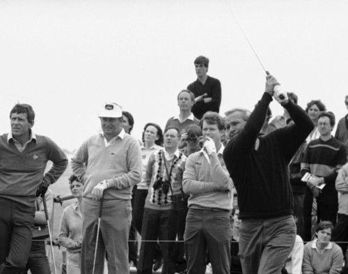 Arnold Palmer and Raymond Floyd