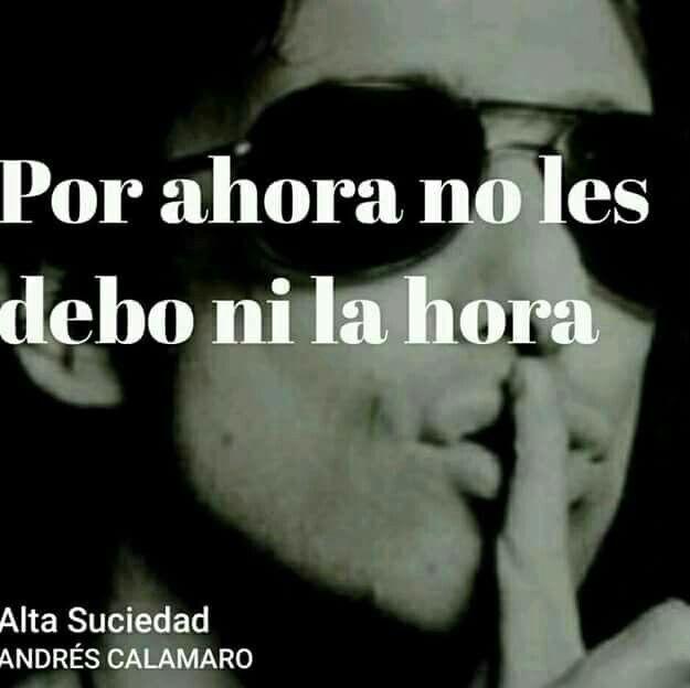 Frases de canciones de Andrés Calamaro