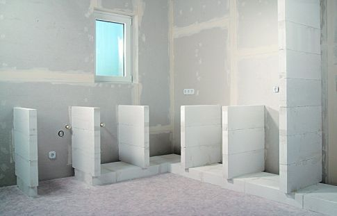 Waschtisch selber bauen ytong  Regal Aus Porenbeton ~ Die neuesten Innenarchitekturideen