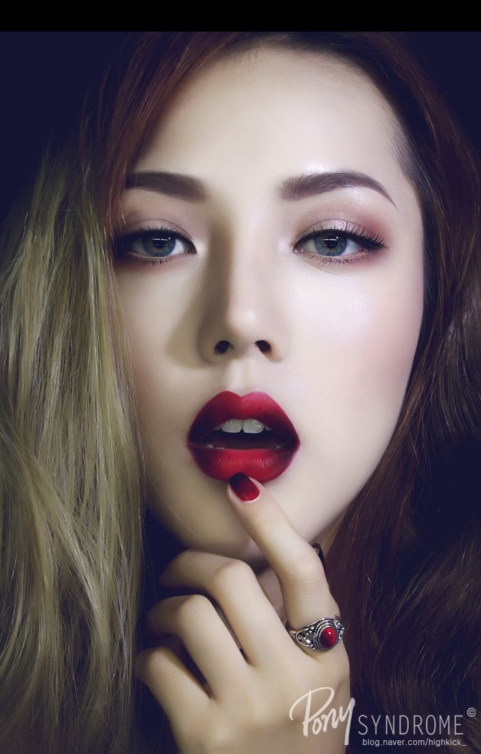 Make Up Fashion And 50 Shades Of Pink: Gemstone Series (No.40 가넷 메이크업