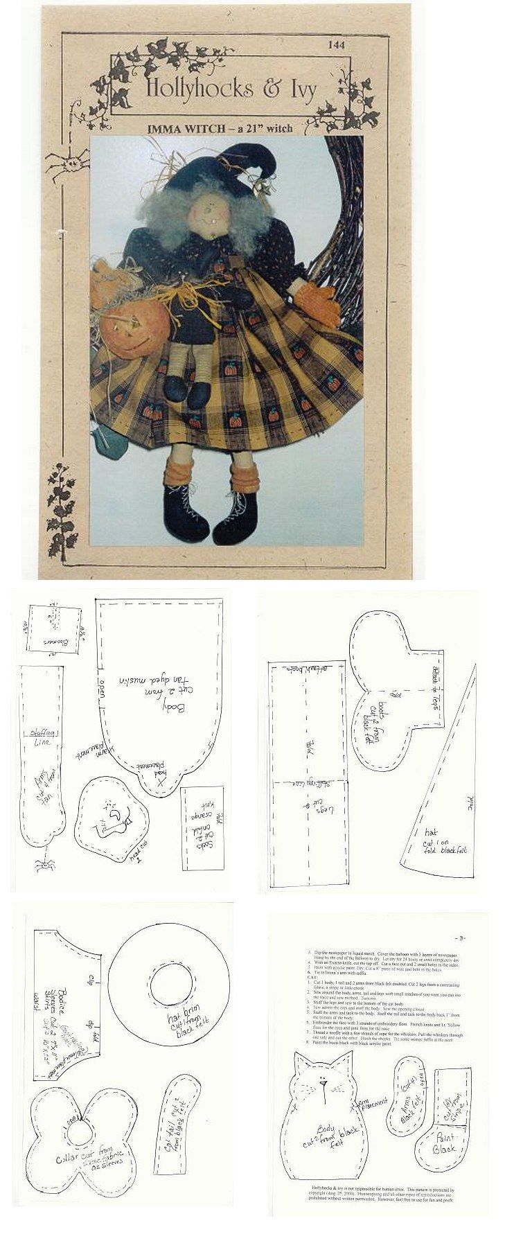 Ragdoll pattern /