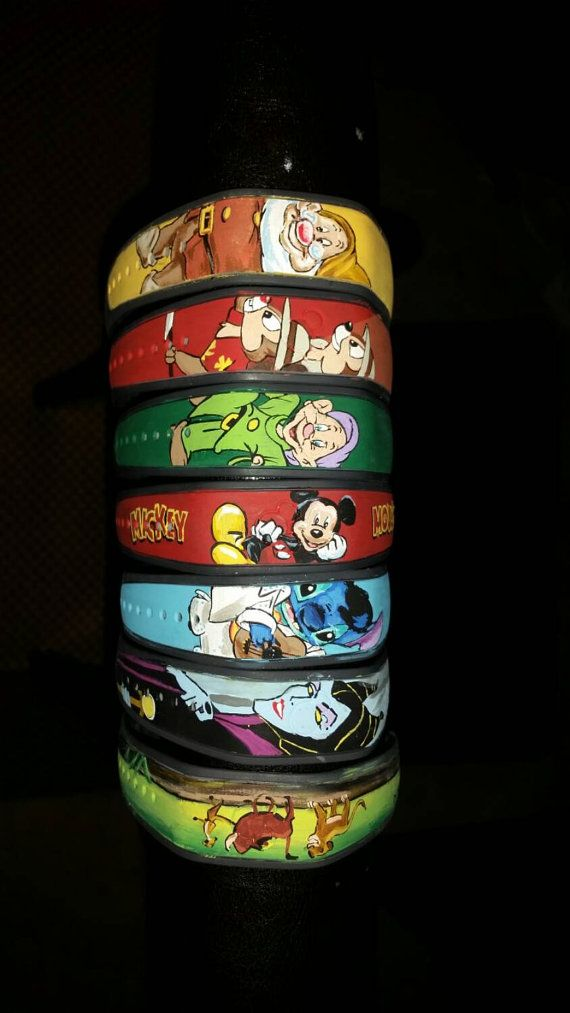Hand Painted Magic Band: Your character of by DrawingsByBOBA