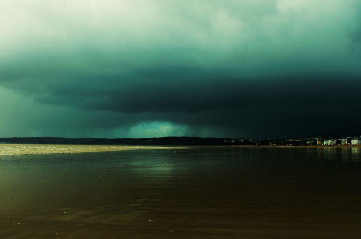 """Storm is coming"" - Swansea, Wales"