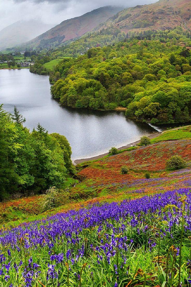 Ambleside, Cumbria, England, UK. Picturesque!