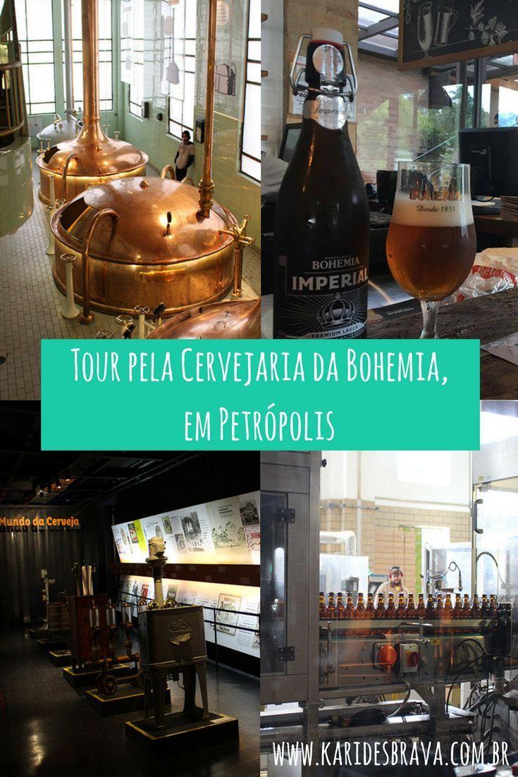 Tudo sobre o tour na Cervejaria da Bohemia, em Petrópolis, região serrana do Rio e um dos polos cervejeiros do estado. Rio de Janeiro, Cerveja, tour, Petrópolis, passeio, viagem, trael, trip, beer.