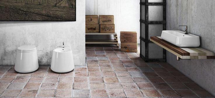 Free-standing toilet / ceramic - CT00100001/CT00200001 - Disegno Ceramica