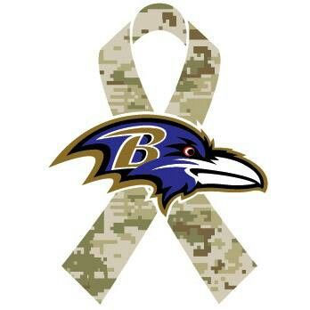 November is Military Appreciation month, the Ravens honor those who serve