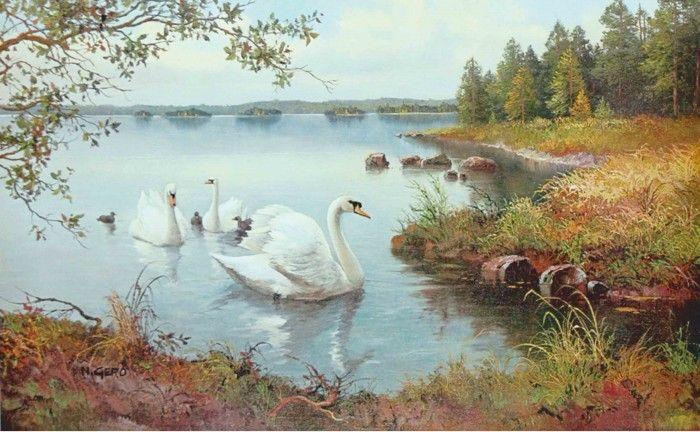 Bild Kunstdruck auf Holzfaserplatte Bilder Artland Tiere Vögel - Kaufen bei Artland GmbH
