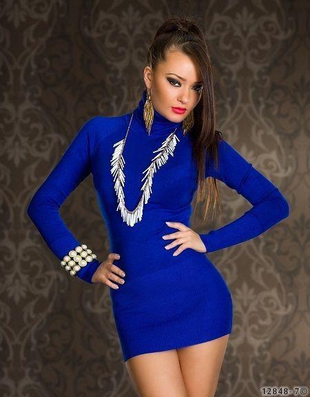 Minikleid,Longshirt,Longpullover,Longtop, Kleid,Tunika, Größe: 36/38,in 7 Farben