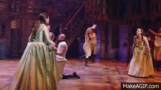 "The Schuyler Sisters"" HAMILTON on Make A Gif"