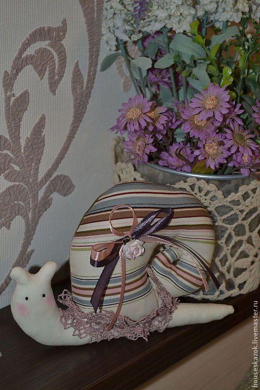 Купить Улитка тильда (Неженка) - улитка, улитка Тильда, подарок, ручная работа, кукла Тильда