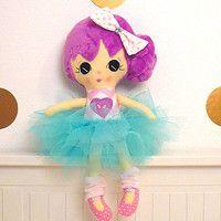 Handmade fabric dolls,baby first doll, textile doll, ballerina, tutu, tutu skirt for doll, cute dolls, soft dolls, hand made rag dolls, plush dill, softie, dolls with removable cloths, dolls made to order, dress up dolls