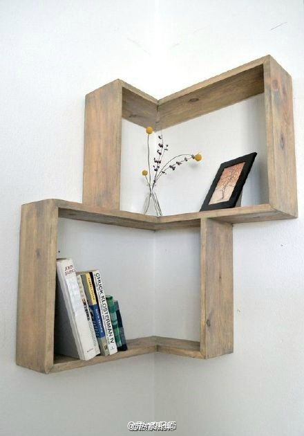 Clever use of the corner!