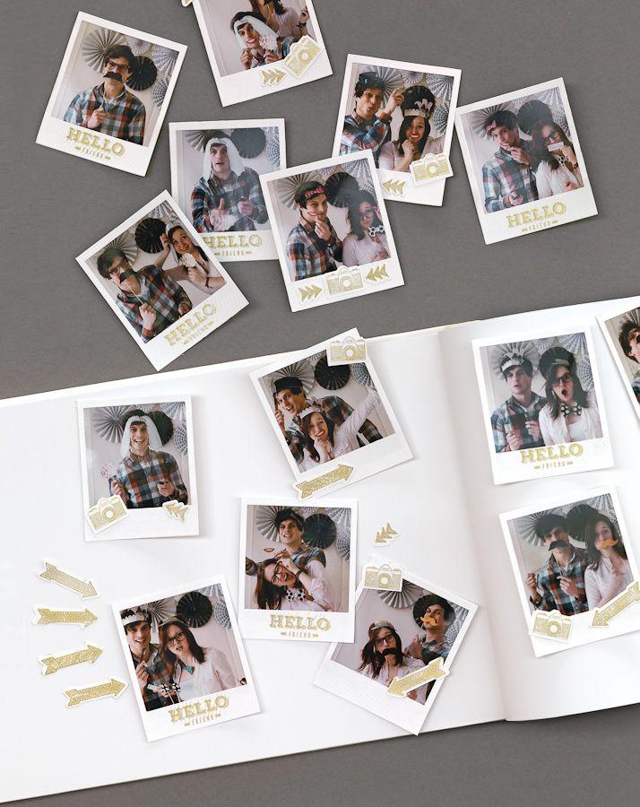 Photobooth selbst gemacht - Eine Photobooth ist einfach toll. Innerhalb kürzester Zeit herrscht ein fröhliches Gedränge vor der Kamera.