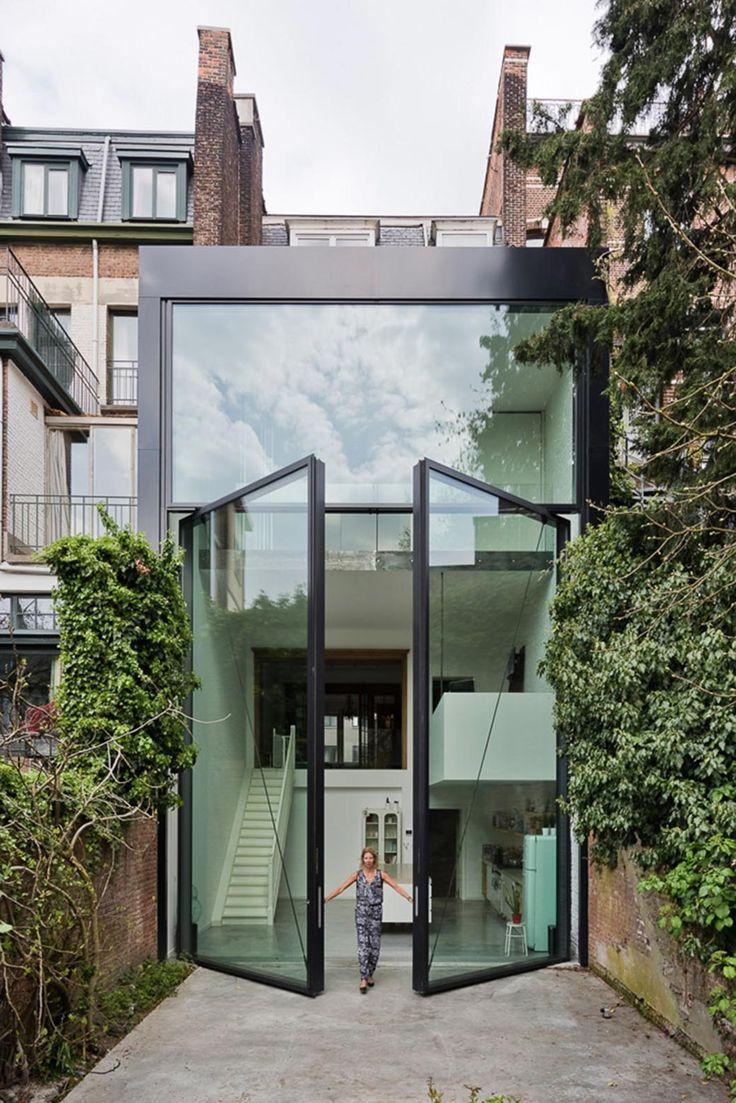 sculp(it) architecten / renovatie burgerwoning lalo te bekijken, antwerpen