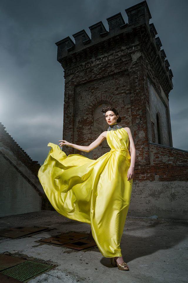 Photography: Daniel Ilinca - idaniphotography Make-up: Mirela Fazakas Hairstyle: Alina Maria Crisan - ACHA Outfit: Anca Crisan Model: Claudia Demian - Graziela Model Agency Location: Moara Rasarit