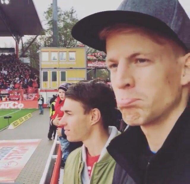 "hillsize: "" Michael Hayböck & Stefan Kraft ""Berlin Trip"" via Instagram & Facebook """