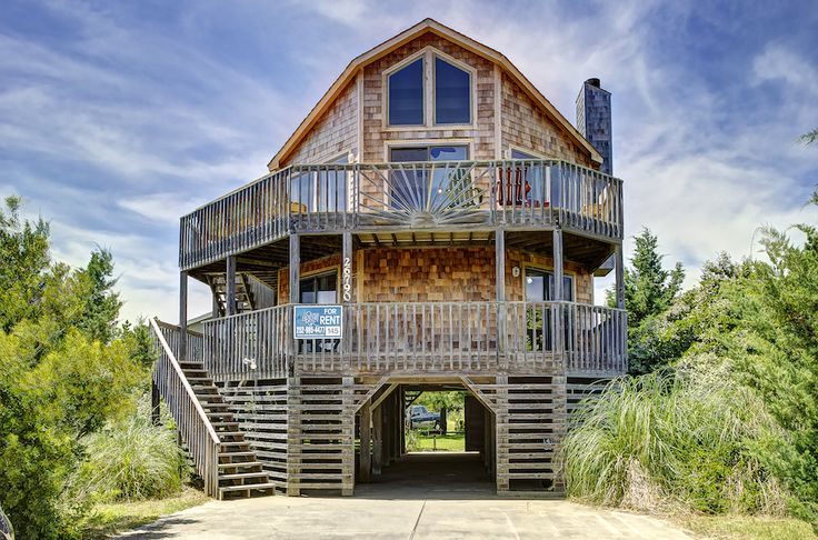 60 best salvo vacation rentals hatteras island images on for Hatteras cabins rentals