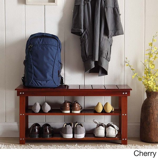 Bedroom Storage Bench Cherry 77 best shoe benches images on pinterest | shoe racks, shoe