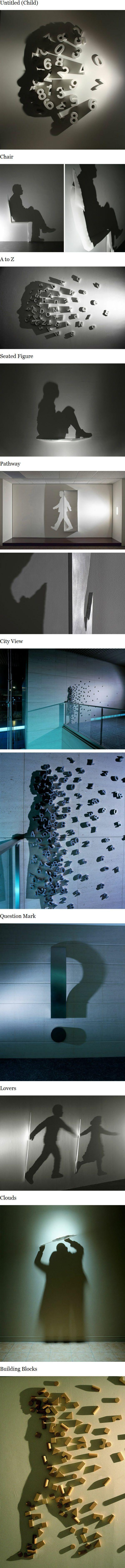 L'art des ombres, par Kumi Yamashita Magnifique