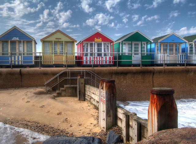 As a child always visited Broadstairs in Kent on holiday with the family, & sometimes my parents would book a beach hut, which of course I ♡'d :) xx
