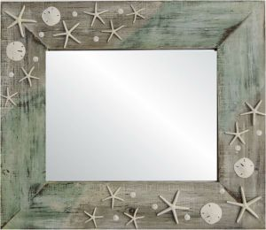 "The ""Shoreline"" Beach Mirror"