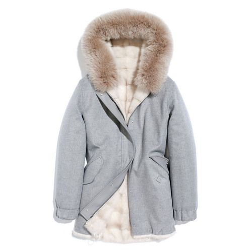 Loro Piana ortisei baby cashmere storm system® & mink