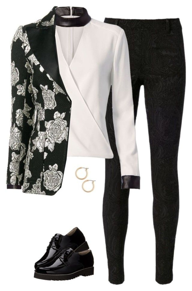 """""""BTS Blood Sweat & Tears Female"""" by sunkissogaccount ❤ liked on Polyvore featuring Faith Connexion, Exclusive for Intermix, Paul Green and Nordstrom"""