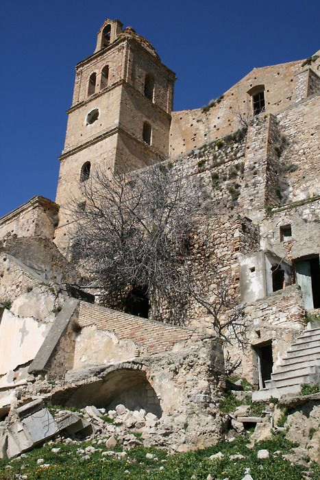 Abandoned Places - Craco, Italy, province of Matera , Basilicata
