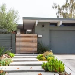 Eichler Fence Ideas | Mid-Century Modern Fences | Fence Pictures