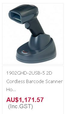 Get branded Barcode Scanner at Quick POS for POS business in Australia