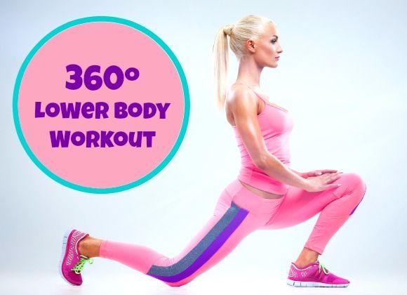 360º Lower Body Circuit Workout - My Dream Shape!