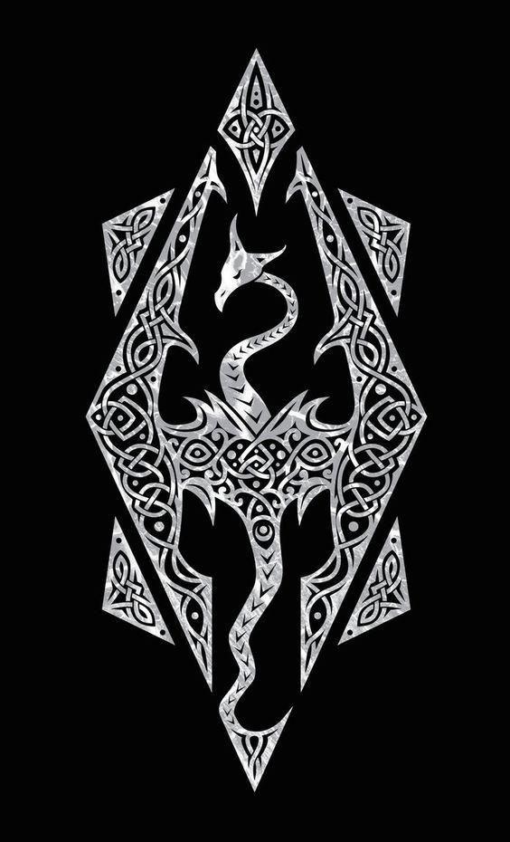 17++ Akatosh symbol ideas in 2021