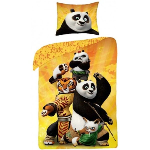 Kung Fu Panda 3 sengetøj i 100 % bomuld