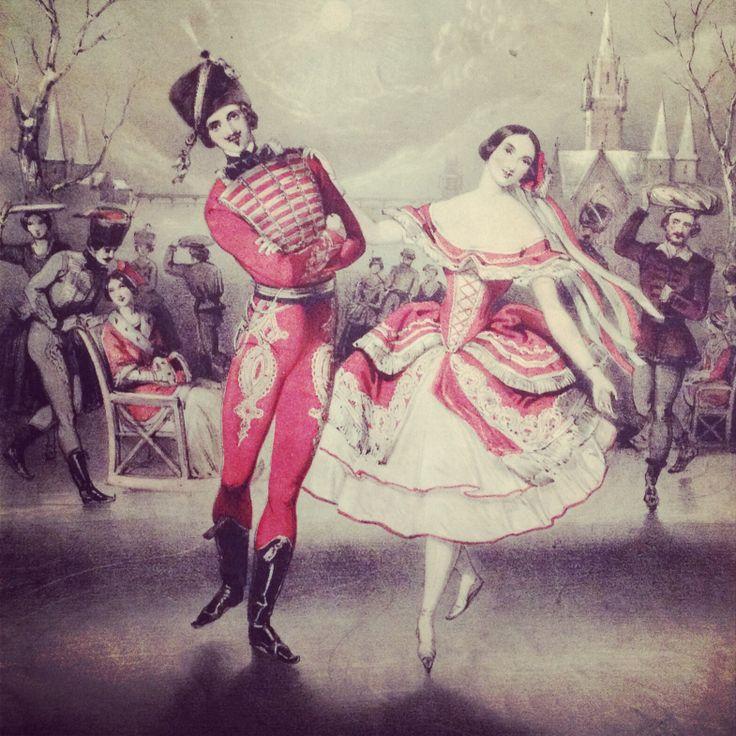 Victorian sheet music illustration