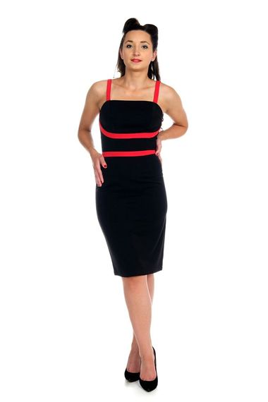 Clothing :: Dress black/red - Hulahup
