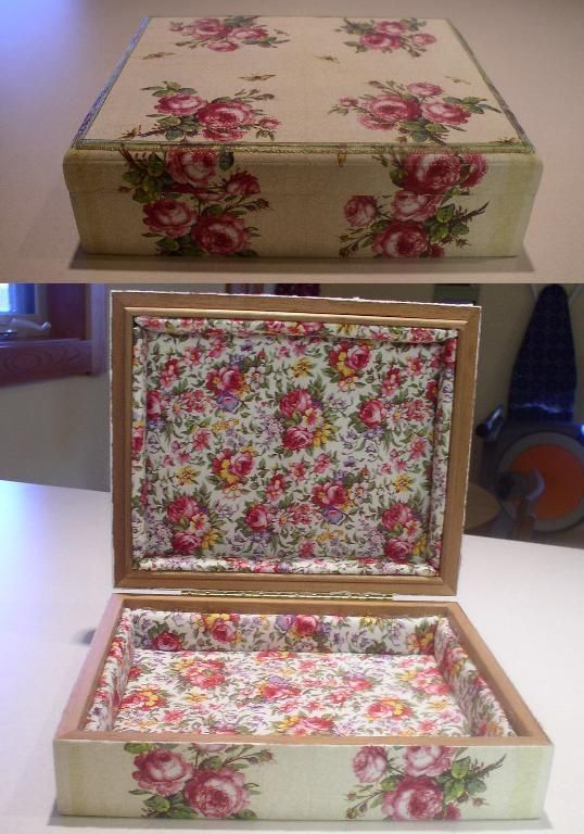 Altered Cigar Box project on Craftsy.com