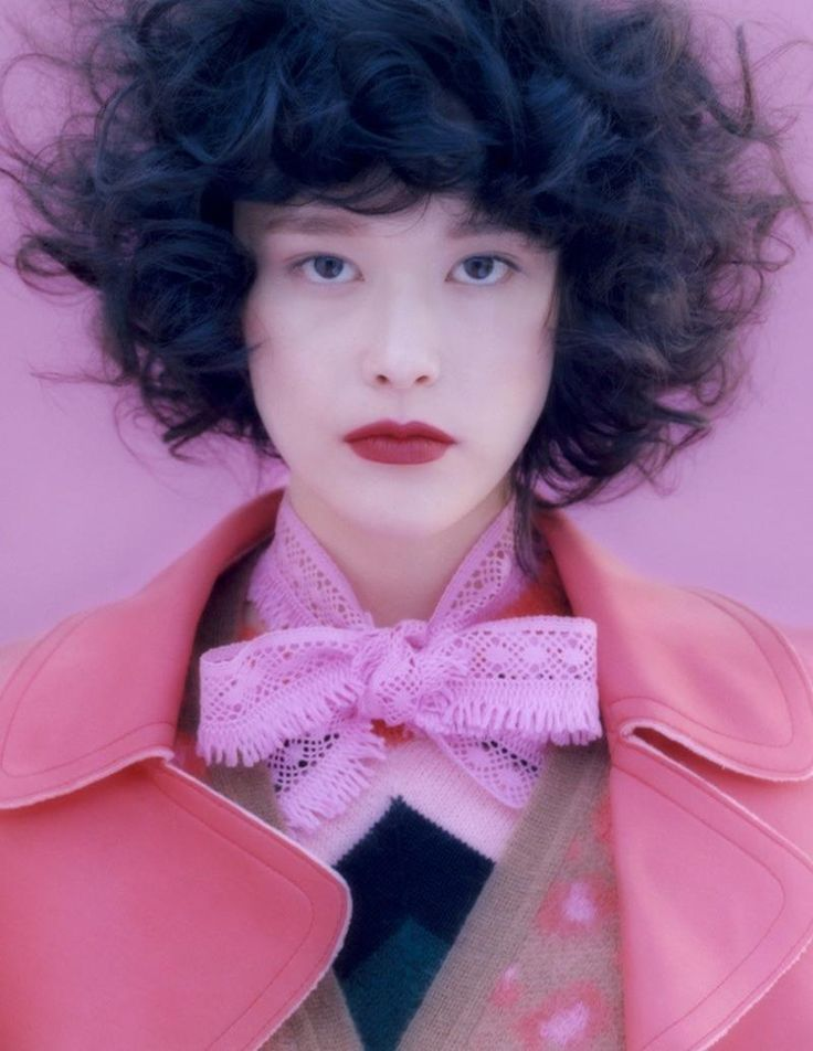 "lucesolare: ""Mae Mei Lapres by Amira Fritz for Vogue Germany September 2015 """