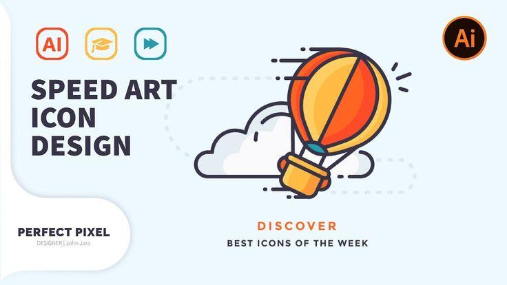 illustrator tutorials | Speed-art | Professional Icon Design
