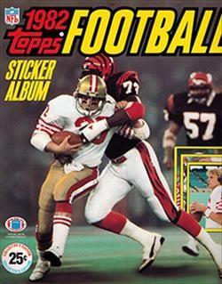 1982 Topps Football Sticker Album