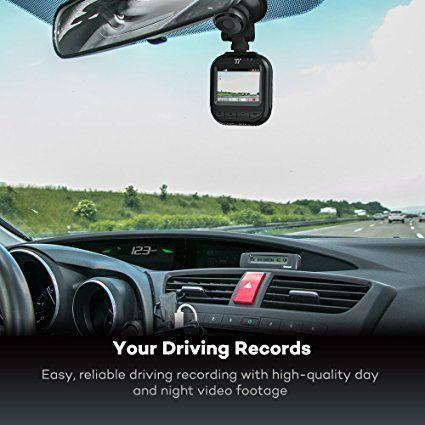 TaoTronics Car DVR Dash Cam 2K/30fps, 1080p/45fps, 400W Sensor, 160 Degrees Wide Angle Lens, 2'' Screen,Free 32GB SD Card, G-Sensor: Amazon.ca: Electronics.  $124.99