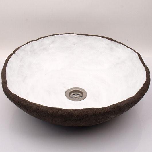 dodatki - łazienka-umywalka kokos