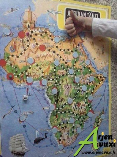 Huippu peli! #afrikantähti #lastenhoito #töissäonkivaa