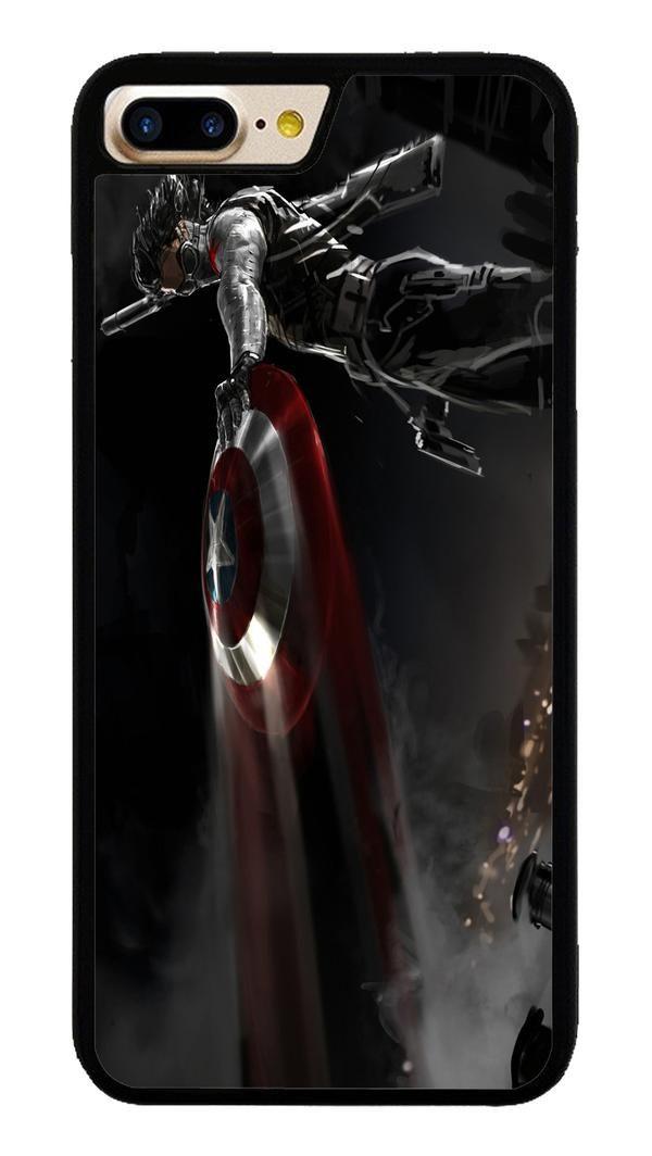 Captain America 028 for iPhone 7 Plus Case #CaptainAmerica #ranger #avangers #Marvel #iphone7plus #covercase #phonecase #cases #favella